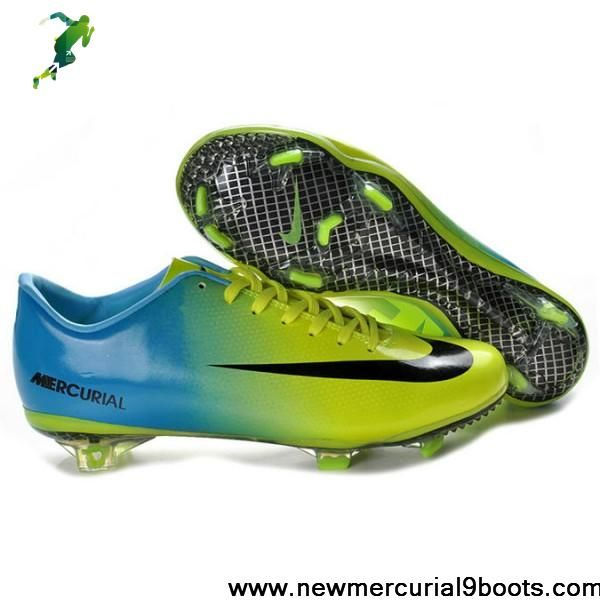 Latest Listing Cheap Nike Mercurial Vapor IX FG Green Blue Black Football  Shoes For SaleFootball Boots For Sale