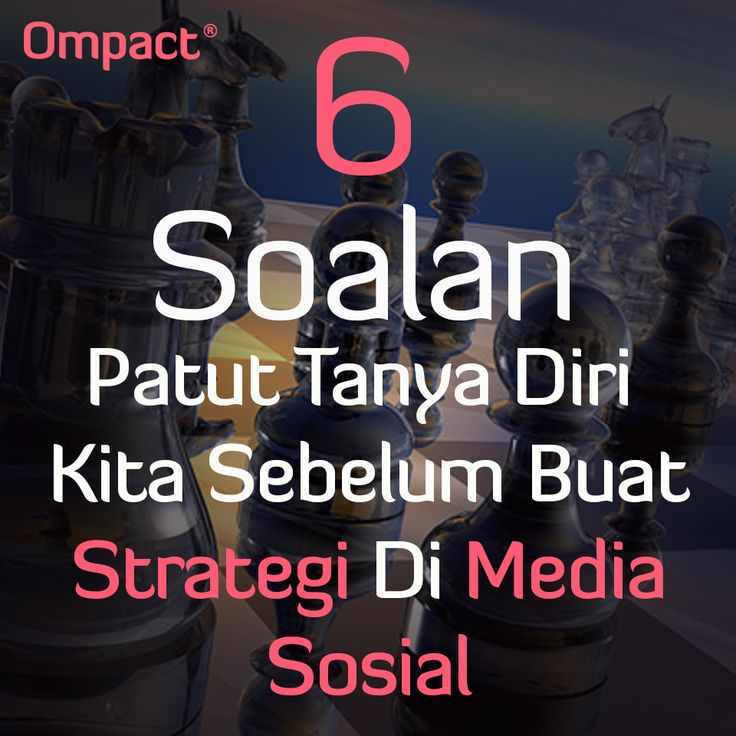 strategi pemasaran media sosial - Ompact.my