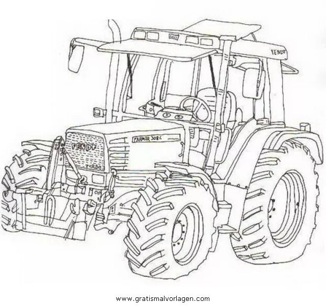 trecker zum ausmalen kostenlos – Google Suche   Tractor ...