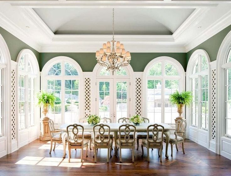 10 best joyce sarasota ceilings images on pinterest trey for Sunroom dining room ideas