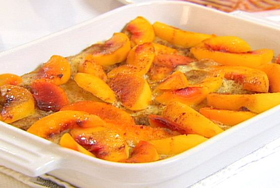 Peach French Toast Bake from FoodNetwork.com