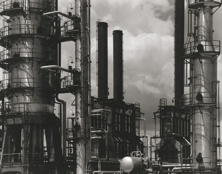 Oil Refinery, Tema, Ghana PHOTOGRAPH BY PAUL STRAND, PHILADELPHIA MUSEUM OF ART. THE PAUL STRAND COLLECTION, PURCHASED WITH FUNDS CONTRIBUTED BY LYNNE AND HAROLD HONICKMAN