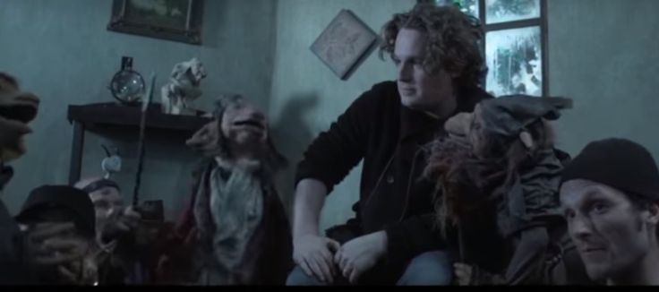 "And maybe tear up just a little bit. In a tribute to David Bowie, Toby Froud, who was kidnapped as a baby by the Goblin King, reenacts ""Dance Magic"" with a team of puppeteers and goblins. The labyrinth is still growing and changing. From Realm of Froud via Tor.com"
