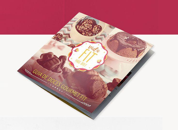 """Confira este projeto do @Behance: """"EBOOK: Guia de Doces Gourmet Fit"""" https://www.behance.net/gallery/47188485/EBOOK-Guia-de-Doces-Gourmet-Fit  projeto editorial, diagramação, editorial design, criative book, ebook, recipes book"""