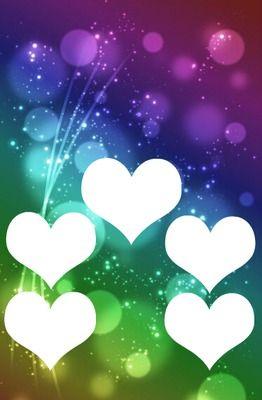 5 photos coeur