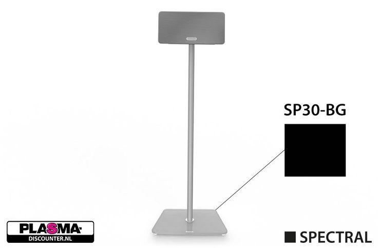 Spectral SP30-BG zwart / 1x  Description: Spectral SP30-BG zwart glas: Vloerstandaard voor de Sonos Play:3 De Spectral SP30-BG zwart glas is een perfecte vloerstandaard voor jouw Sonos Play:3. In het prachtig strakke zwart past deze standaard altijd perfect bij de zwarte Play:3 en staat hij zeer fraai in jouw interieur. De basis van de voet kan worden opengemaakt zodat je alle kabels binnen een handomdraai netjes uit het zicht kunt opbergen. De Spectral SP30-BG zwart glas maakt het mogelijk…