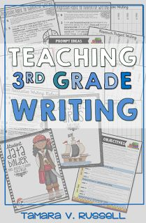 A few ideas on how to teach writing in third grade!