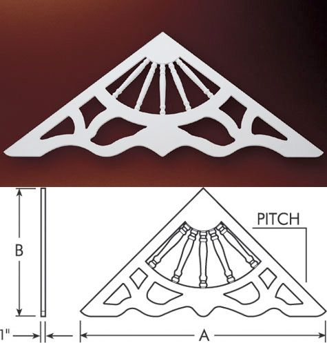 Fypon gable decorations fypon gable pediments gable for Fypon window pediments