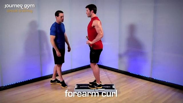 Forearm Curl - How To by journey gym