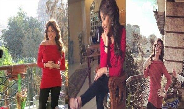 جولة داخل منزل الفنانة التونسية لطيفة في مصر Fashion Shoulder Dress Off Shoulder