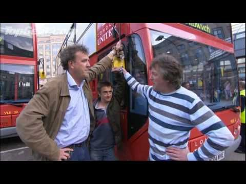 The Top Gear boys stage an Environment Bus Protest! - Top Gear - BBC autos