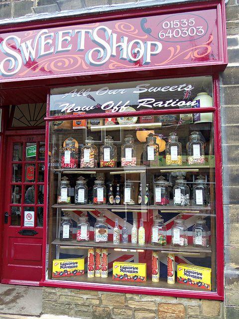 Haworth Sweet Shop, West Yorkshire