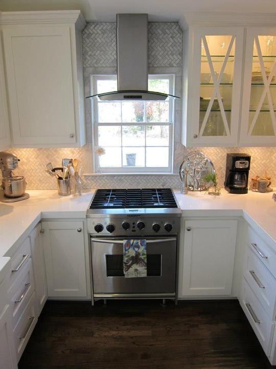 24 best Kitchen stove under window images on Pinterest | Kitchen ...