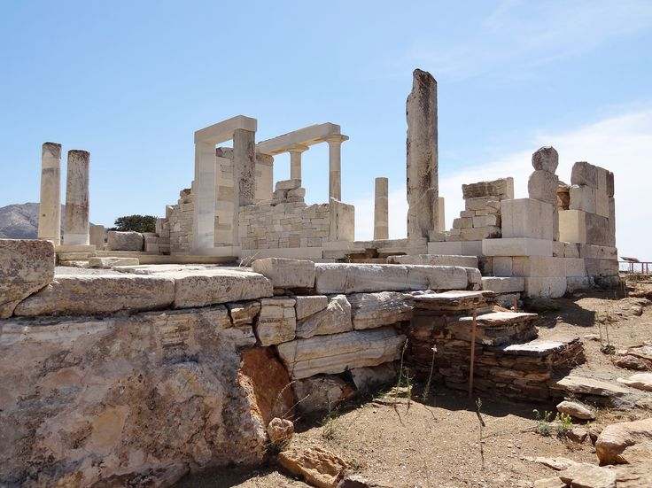 Temple of Dimitra #Naxos #ArchaeologicalArea