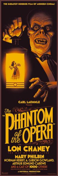 The Phantom of the Opera (1925).  Really like this version ❤