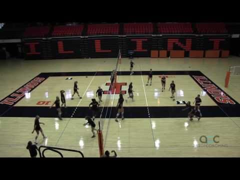 AVCA Video Tip of the Week: Illinois 'Chaos' Drill Improves Decision Making