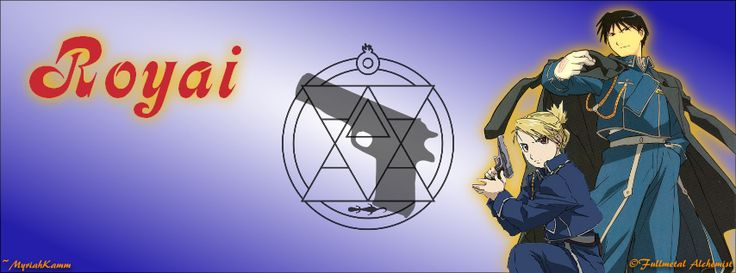 Roy Mustang and Riza Hawkeye from Fullmetal Alchemist: Brotherhood, FB Cover size
