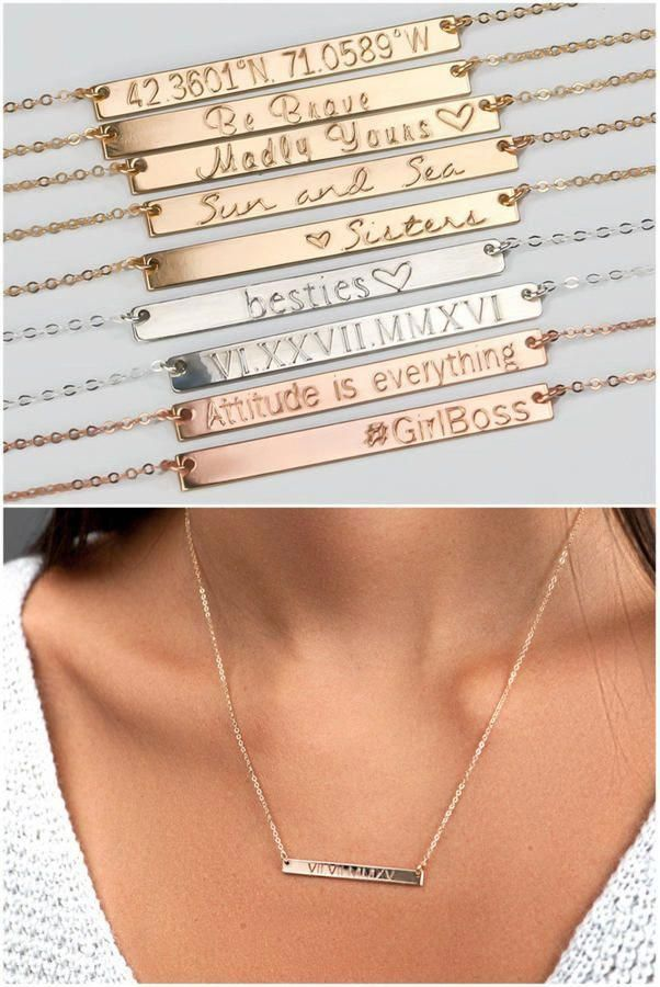 14k Gold Diamond Necklace Open Pear Floating Diamond Necklace Mothers Day Gift Bridesmaid Gift Diamond Pendant Fine Jewelry Ideas Bar Necklace Personalized Engraved Bar Necklace Gold Bar Necklace