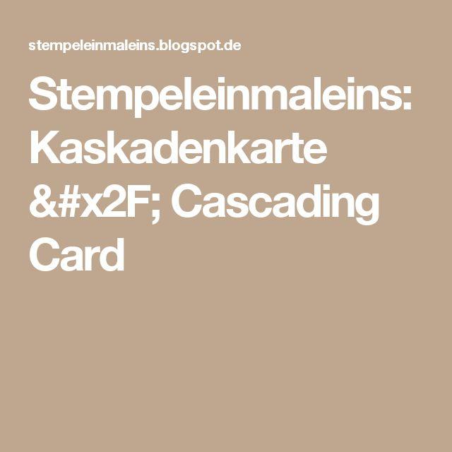 Stargazing Wishes In Anaheim Ca: 25+ Best Ideas About Cascading Card On Pinterest