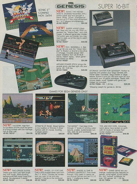 Sega Genesis Add!!