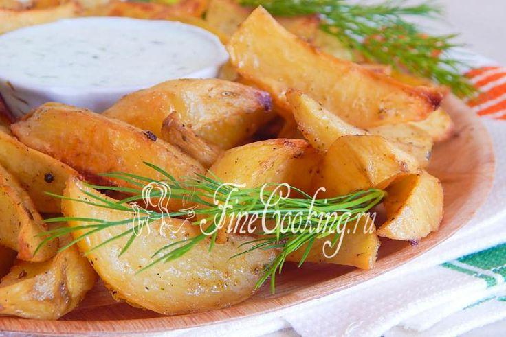 Картофельные дольки - рецепт с фото