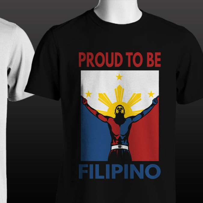 Philippines modern t shirt/hoodie design for kids and teenagers by Tiu Designs