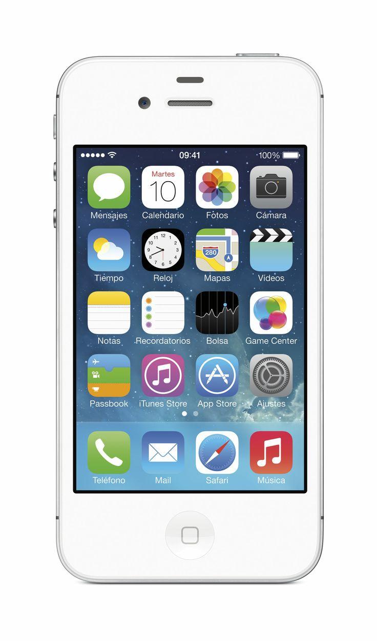 #iPhone #4S #blanco  #Apple