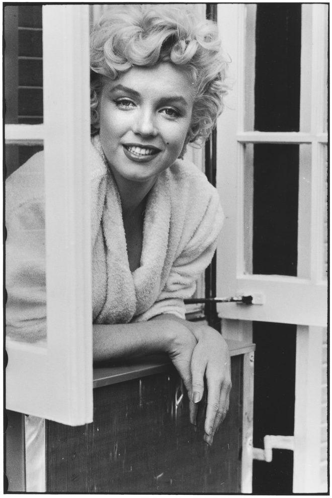 USA. New York City. 1954. Marilyn Monroe, Elliott Erwitt
