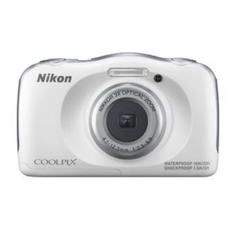 Appareil photo waterproof - Compact Nikon Coolpix S33 Blanc. Idéal pour faire les photos de vacances sous à la mer :)