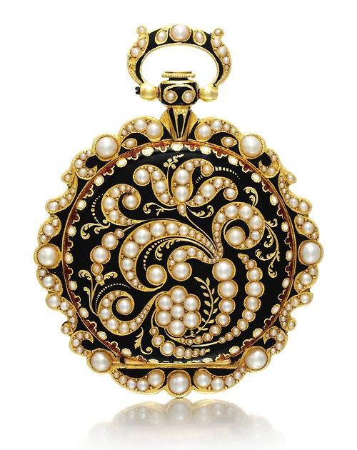 Pocket Watch, 1840, via Sotheby's.