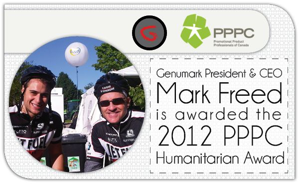 Mark Freed is the 2012 PPPC Humanitarian of the Year
