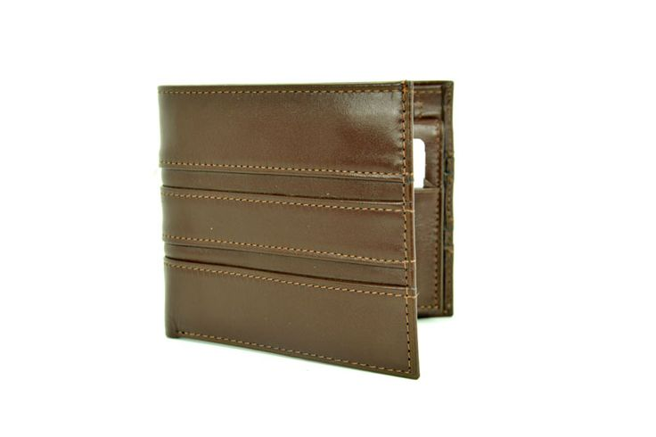Brown Colour Special Design Genuine Leather Wallet