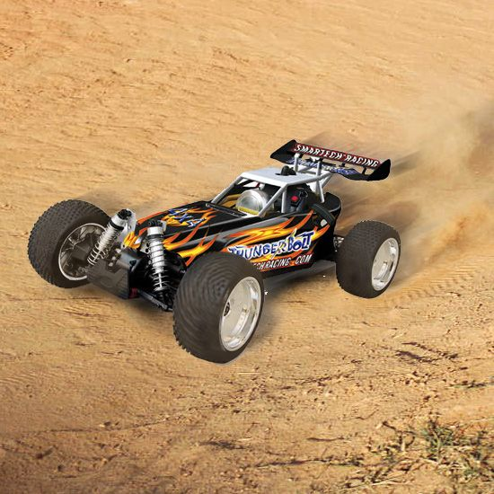 gb-053420 1/5 gas rc car 4wd off-road rc racing car - Thunderbolt, gas powered rc car