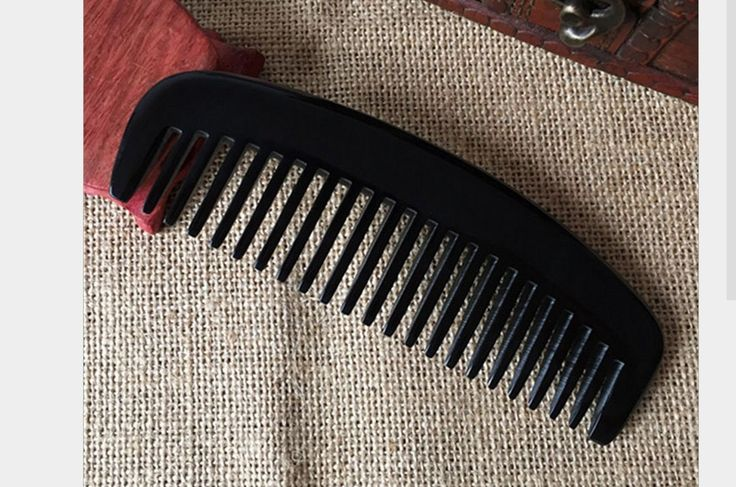 Meta-C Natural Handmade Buffalo Horn Comb (Wide tooth) *** Check this useful article by going to the link at the image. #hairhealth