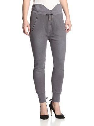 71% OFF Maison Scotch Women's Banded Waist Skinny Pant (Charcoal)