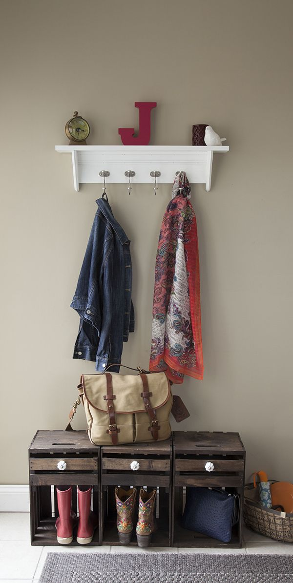 Easy Diy How To Make A Decorative Moulding Hook Rail