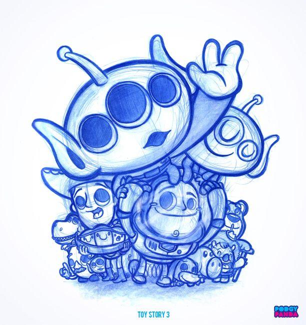 Podgy Panda's drawings are amazing!
