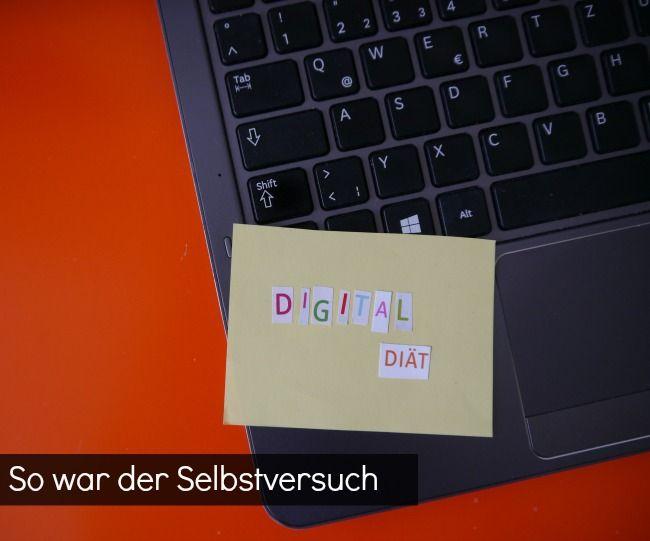Eine Woche Digital Diät- So war der Selbstversuch // Digital Detox