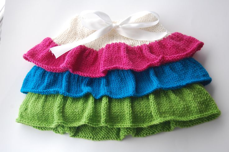Ravelry: Project Gallery for The Ruffle Skirt pattern by Claire Gentry