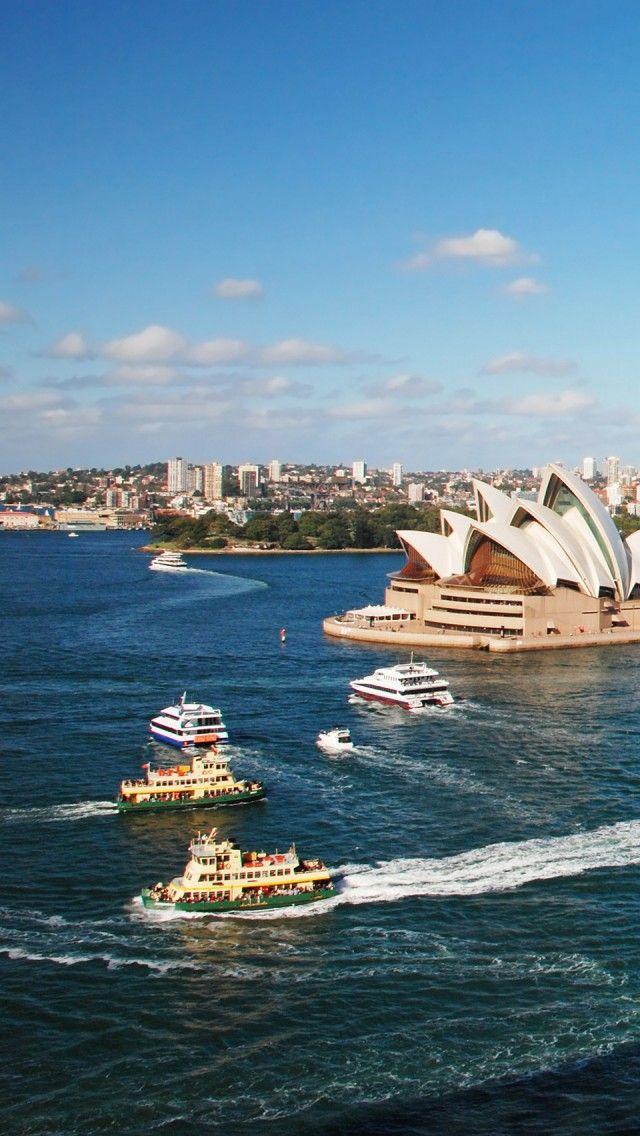 Sydney With Opera House,Australia