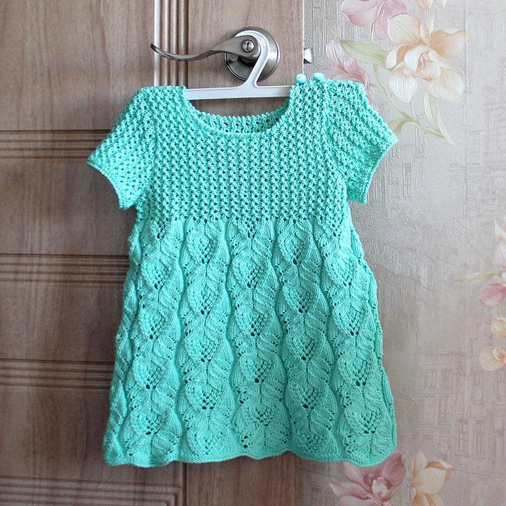 Мобильный LiveInternet Прелестное платьице для малышки 1-2 лет.    buksiha - Дневник buksiha  