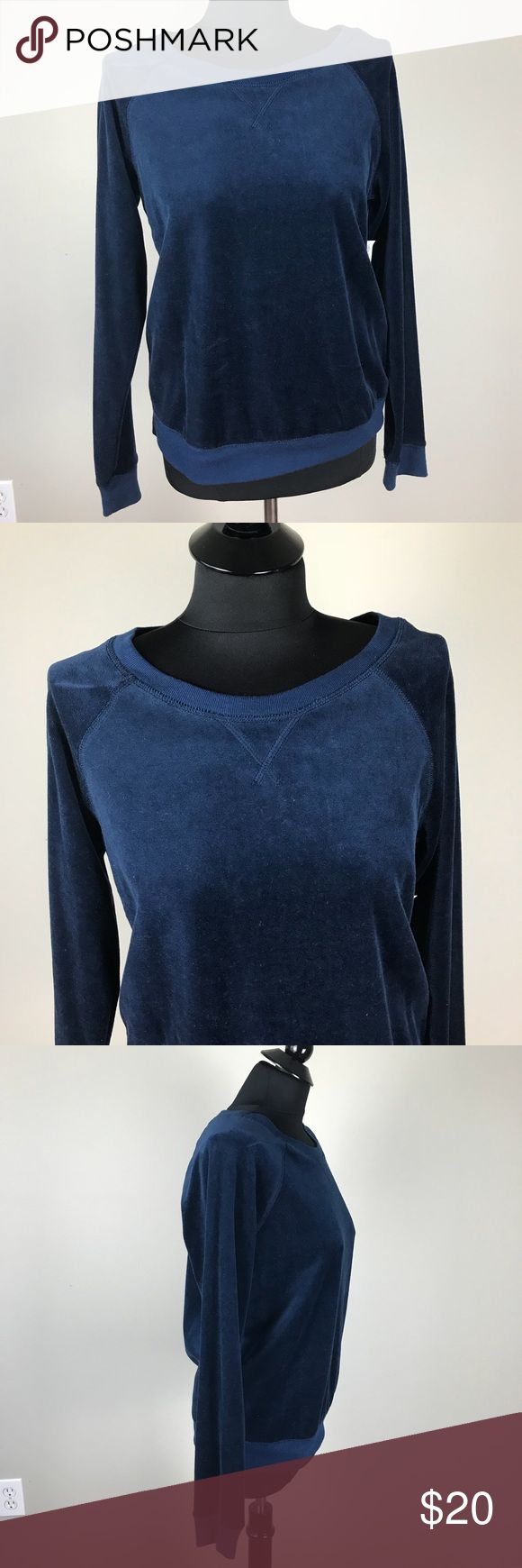 Old Navy Blue Velour Sweatshirt NWT New with tags Old Navy Blue Velour material Sweatshirt. Old Navy Tops Sweatshirts & Hoodies