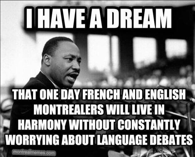 I HAVE A DREAM .....
