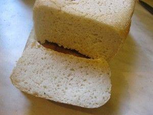 Fehér gluténmentes kenyér