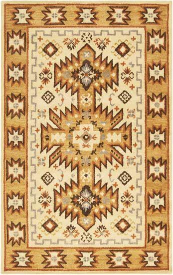 Hand Tufted Southwestern Aztec Waelder Wool Rug Ping Great Deals On Runner Rugs