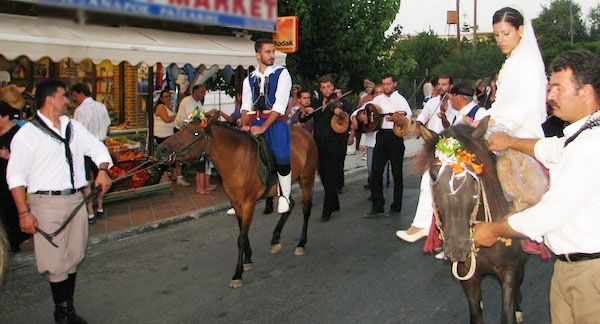 Get married on a donkey with Cretan gun shooters, shooting for your magical day!
