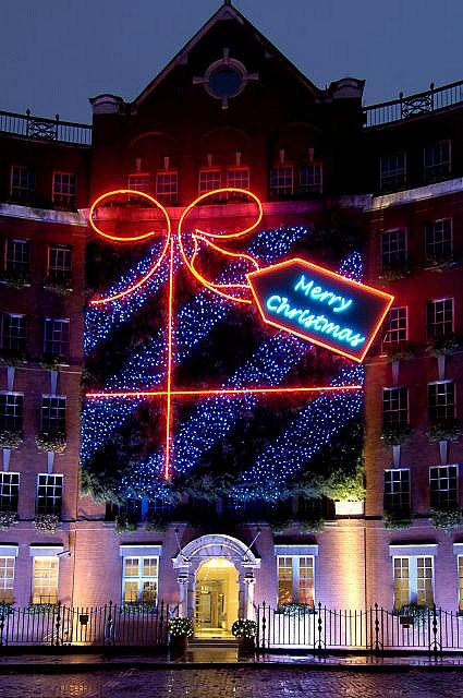 The lights of Christmas past