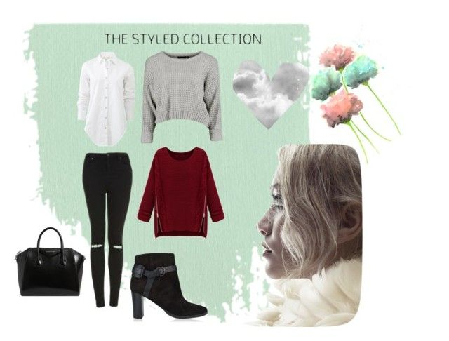 """""""Styled dream✨"""" by catalina-joy on Polyvore featuring Topshop, rag & bone, Jimmy Choo and Givenchy"""
