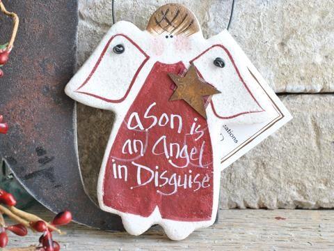 Son Birthday Christmas Gift Salt Dough Ornament