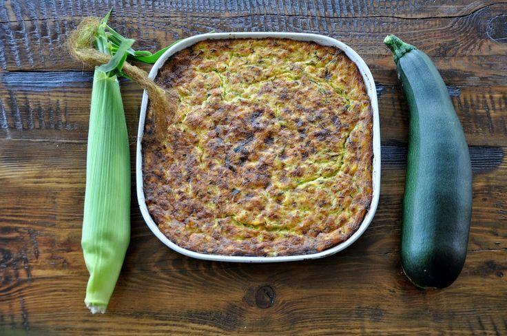 Na háji: Polenta pečená s cukinou a kukuricou